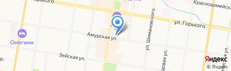 ПИПЛЗ на карте Благовещенска
