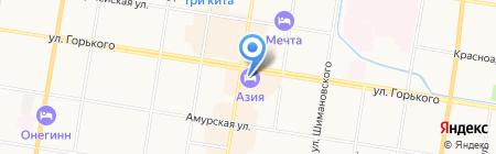 #ЧАЙКОФСКИЙ на карте Благовещенска