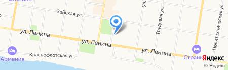 СУШИ WOK на карте Благовещенска