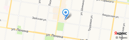 G-tech на карте Благовещенска