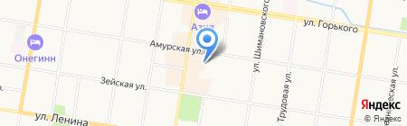 СПСР-ЭКСПРЕСС на карте Благовещенска