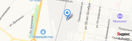 Амур на карте Благовещенска
