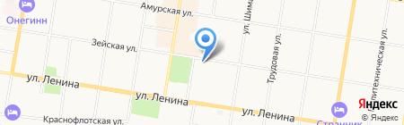 АмИТ-Сервис на карте Благовещенска