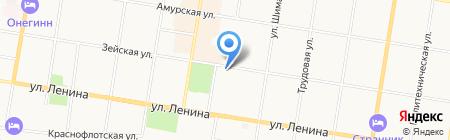Amursvadba.ru на карте Благовещенска