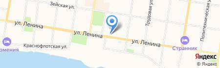 Отдел ведения информационной системы обеспечения градостроительной деятельности на карте Благовещенска