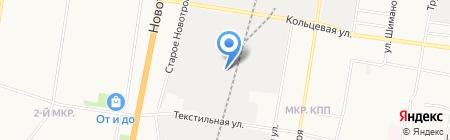 ДВ-Цемент на карте Благовещенска