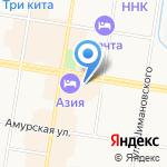 Амурское отделение Системы и сети на карте Благовещенска