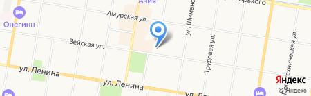 Arbyte на карте Благовещенска