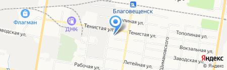 СЕКС.РФ на карте Благовещенска