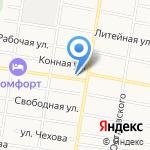 VIP авто на карте Благовещенска