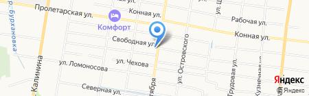 Дом паркета на карте Благовещенска