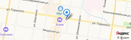 КИТ-ЧЕН на карте Благовещенска