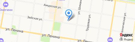 Банкомат МТС Банк на карте Благовещенска