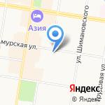 Адвокатский кабинет Случанко В.А. на карте Благовещенска