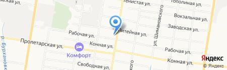 Haomoda на карте Благовещенска