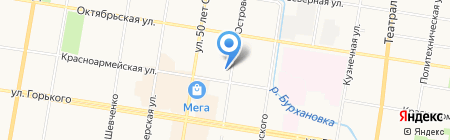 Стройплощадка на карте Благовещенска