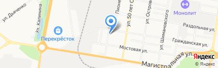 Русавтолюкс на карте Благовещенска