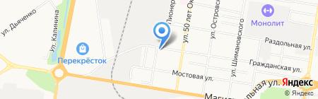 А-МЕГА на карте Благовещенска