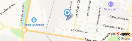 Квартет на карте Благовещенска