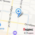 Коврик-ру на карте Благовещенска