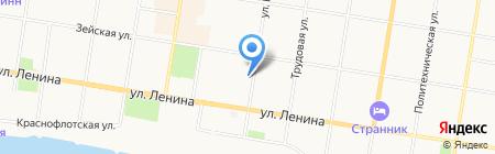 Feeriya.ru на карте Благовещенска