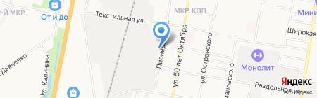 ДзиньМа на карте Благовещенска