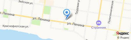 BOCADO на карте Благовещенска