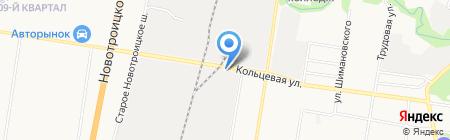 Амур АВТО на карте Благовещенска