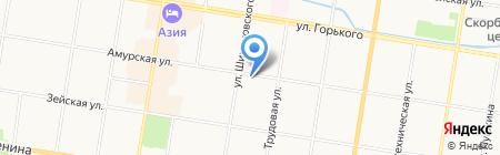 In Style на карте Благовещенска
