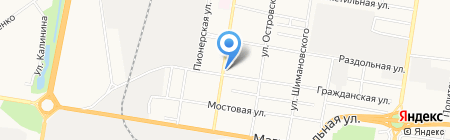4х4 на карте Благовещенска