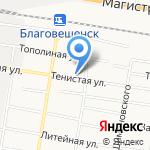 Радиочастотный центр на карте Благовещенска