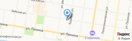 РОСТ БАНК на карте Благовещенска