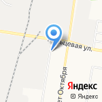 Компания по аренде грузовиков с манипуляторами на карте Благовещенска