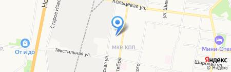 Заправка на КПП на карте Благовещенска