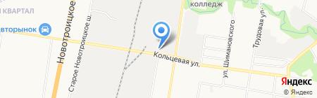 Евро-Авто на карте Благовещенска