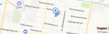 Фемида на карте Благовещенска