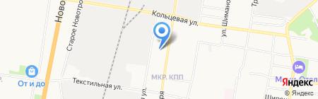 Детский сад №52 Журавушка на карте Благовещенска