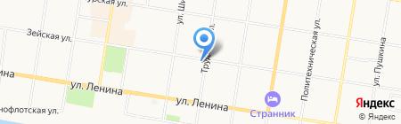 Мега-строй на карте Благовещенска