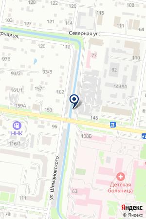 Автоцвет на карте Благовещенска