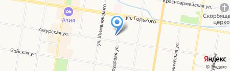Ростехинвентаризация-Федеральное БТИ на карте Благовещенска