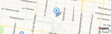 Автоспас на карте Благовещенска
