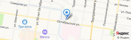 Домвент-Амур на карте Благовещенска