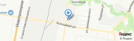 Амур-Транс-Нефть на карте Благовещенска