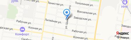 Строительная компания Перспектива на карте Благовещенска