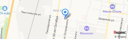 Автоформат+ на карте Благовещенска