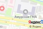 Схема проезда до компании Банкомат, Азиатско-Тихоокеанский банк, ПАО в Благовещенске
