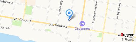 Актуаль на карте Благовещенска