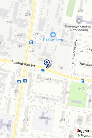 АЗС № 2 АМУРНЕФТЕПРОДУКТ на карте Благовещенска