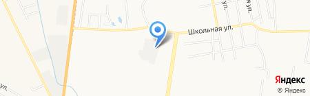 Пункт авторазбора и продажи автозапчастей на Школьной на карте Благовещенска