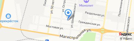 Амуркировецдизельсервис на карте Благовещенска